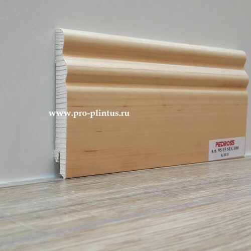 Плинтус Pedross SEG-100 Клён