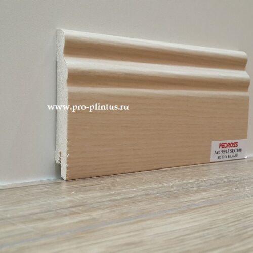 Плинтус Pedross SEG-100 Ясень белый