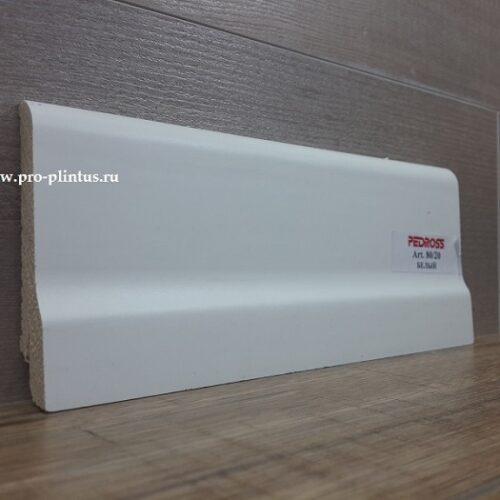 Плинтус Pedross 80x20 белый
