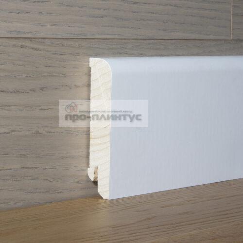 Плинтус Pedross белый 70х15 евроПлинтус Pedross деревянный белый 70×15мм