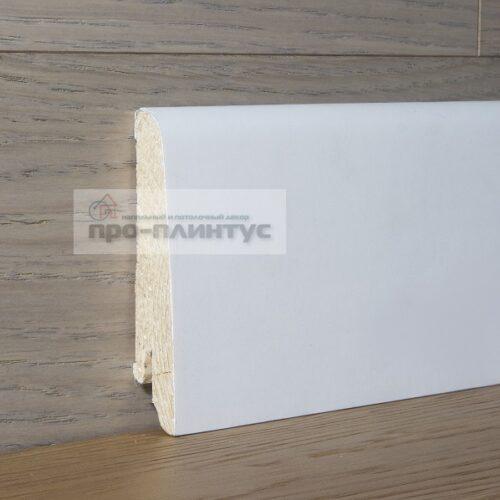 Плинтус Pedross деревянный белый 80×16мм