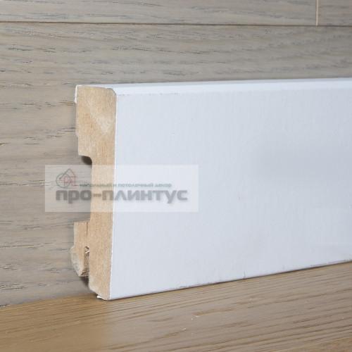 Плинтус Pedross белый 70х18 плоский