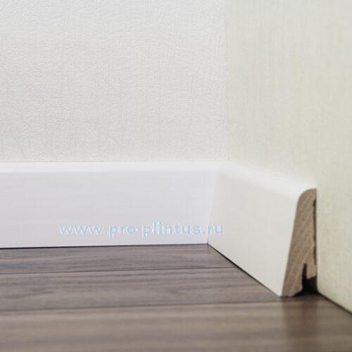 Плинтус Pedross деревянный белый 58×20мм