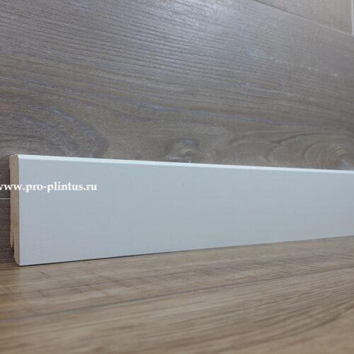 Плинтус Pedross White 58х18 плоский