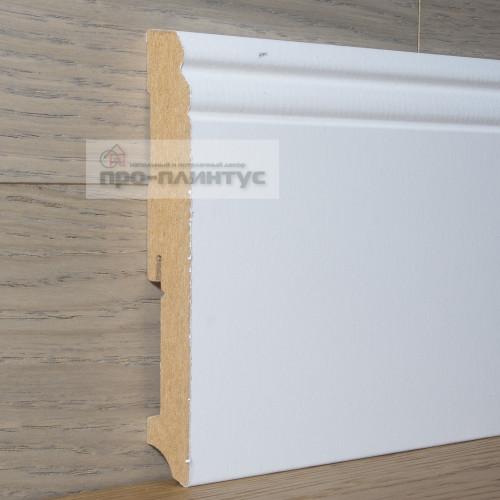 Плинтус FN Profile МДФ белый фигурный 140×19мм
