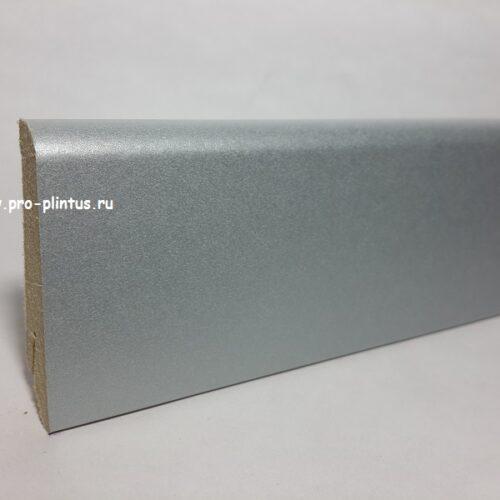 Плинтус Egger МДФ L256 Серебристый металлик