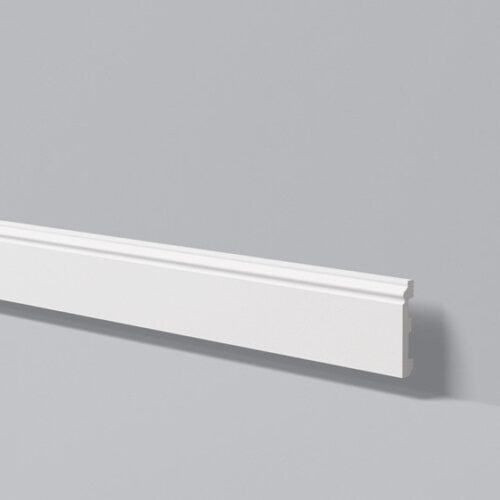 Плинтус белый wallstyl FL-1