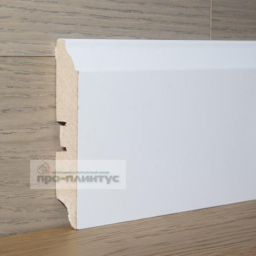 Плинтус SP-decor МДФ белый 100×16мм