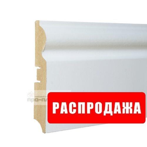 Плинтус белый 110 мм