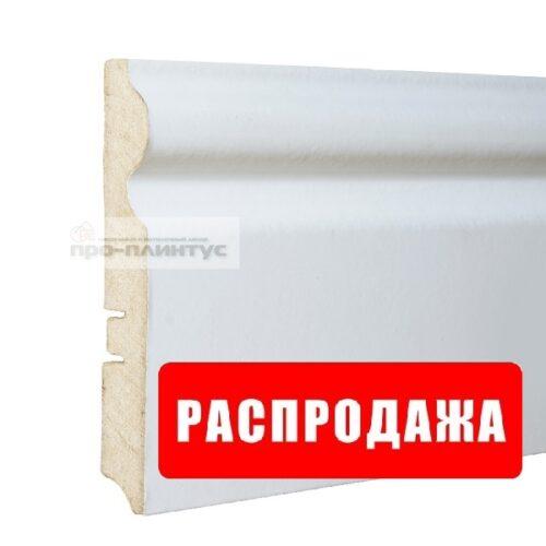 Плинтус белый 116 мм