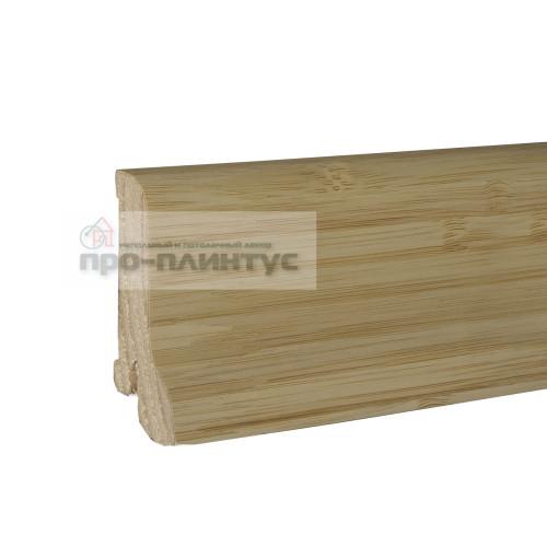 Плинтус Pedross 60x22мм бамбук светлый