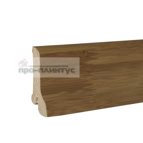 Плинтус Pedross 60x22мм бамбук темный