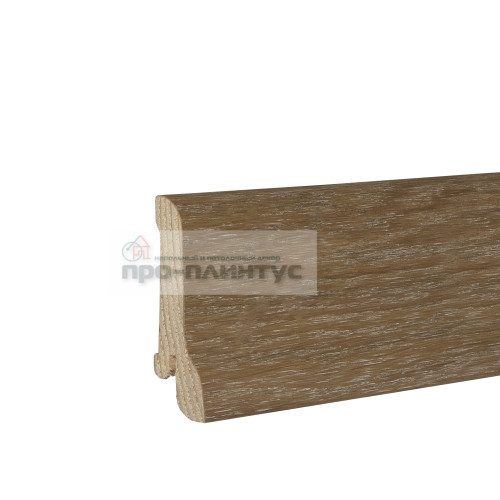 Плинтус Pedross 60x22мм дуб затертый бм