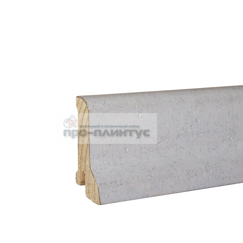 Плинтус Pedross 60x22мм пробка белая
