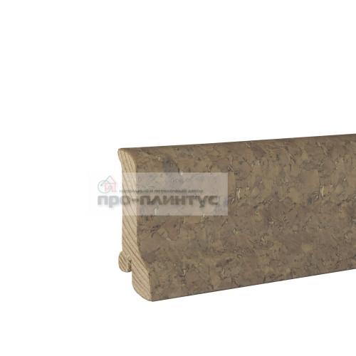 Плинтус Pedross 60x22мм пробка кремовая