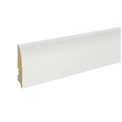Плинтус белый L-decor 58 мм