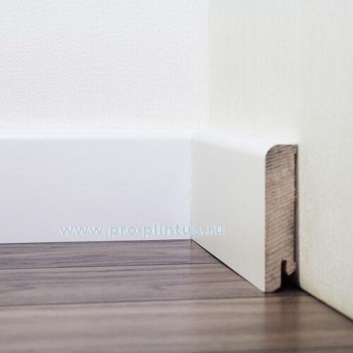 Плинтус Pedross деревянный белый 80x18мм