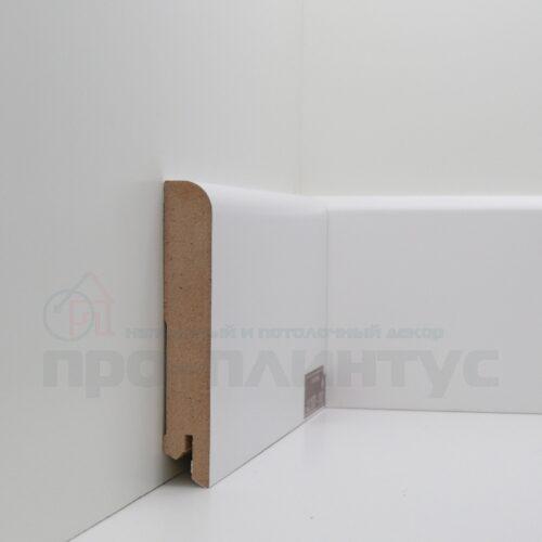 Плинтус белый высокий Deartio U102-100