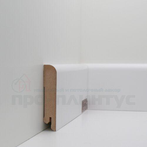 Плинтус белый высокий Deartio U102-80
