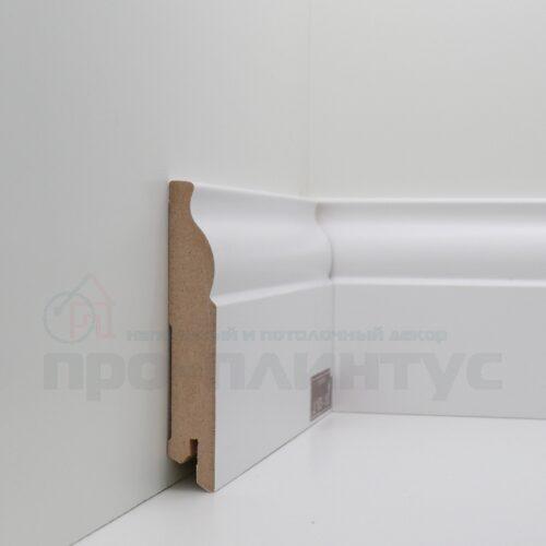 Плинтус белый высокий Deartio U103-100